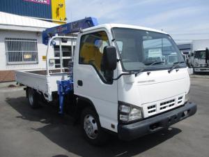 いすゞ エルフトラック 2トン 4WD 3段クレーン ラジコン ワイドロング