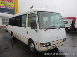 三菱ふそう ローザ 4WD 29人乗りバス テレビ 自動ドア
