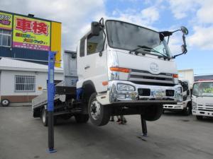 日産ディーゼル コンドル 中型増トン ワイド 4段クレーン 積載3750k セルフ