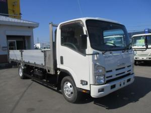 いすゞ エルフトラック 4WD ワイド超ロング 平ボディ 長さ4950
