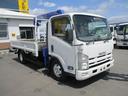 いすゞ/エルフトラック 2トン 3段クレーン ラジコン ワイドロング