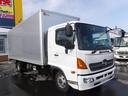日野/レンジャー 4トン アルミバン 箱車 格納パワーゲート ワイドロング
