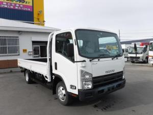 いすゞ エルフトラック 2トン 4WD ワイドロング 平ボディ 荷台内寸 長さ4370 幅2080