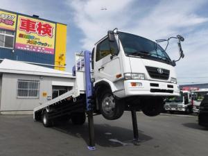 日産ディーゼル コンドル 増トン ワイドロング 3段クレーン ラジコン セルフ ウインチリモコン 積載6900k 荷台内寸長さ6300 幅2350