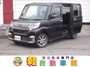 ダイハツ タント カスタムX 4WD ABS 社外ナビ・TV