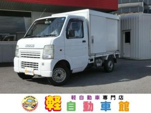 スズキ キャリイトラック KCエアコン・パワステ 4WD マニュアル 保冷車