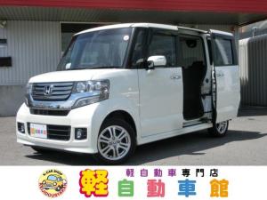 ホンダ N-BOXカスタム G・Lパッケージ 4WD ABS パワスラ アイドルSTOP