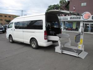 トヨタ ハイエースコミューター  福祉車両Bタイプ 車椅子仕様車 キーレス ウォークスルー 4WD