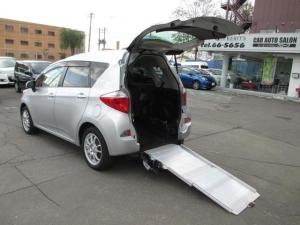 トヨタ ラクティス X X5名 ウェルキャブ 車いす仕様車スロープタイプ タイプI 助手席側リアシート付