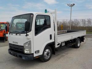 いすゞ エルフトラック 2t平ボディ ロング 4WD