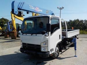 いすゞ エルフトラック 2t4段クレーン 4WD ラジコン
