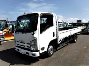 いすゞ エルフトラック 平ボディ ロング 切替式4WD