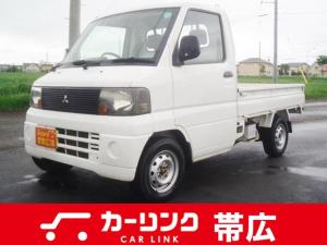 三菱 ミニキャブトラック Vタイプ  3方開 4WDマニュアル パワステエアコン付