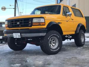 フォード ブロンコ エディーバウァー 寒冷地仕様 リフトアップ