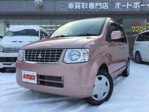 三菱 eKワゴン G 4WD AWD キーレス 衝突安全ボディー ブレーキアシスト 盗難防止システム