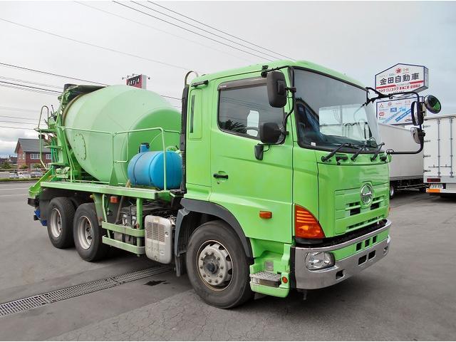 お問合せ番号B04021 ミキサー(MR4430) ドラム容量8.7立米 混合容量4.4立米