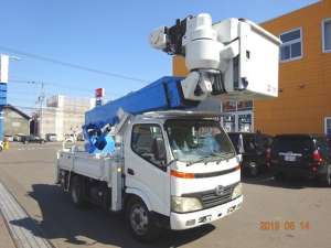 日野 デュトロ 高所作業車 アイチSH15B 14.6m バッテリー式
