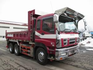 いすゞ ギガ ダンプ PKG-CXZ77K8 新明和工業