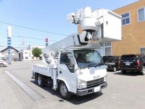 いすゞ エルフトラック 高所作業車 上物型式SH15B 14.6m バッテリー式