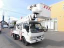 いすゞ/エルフトラック 高所作業車 アイチ SH15A 14.6m ウインチ手動式