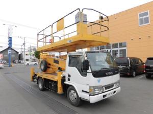 いすゞ エルフトラック 高所作業車 上物型式AT-120S 12m