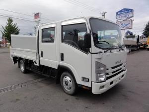 いすゞ エルフトラック wキャブ TRG-NPR85AR 極東