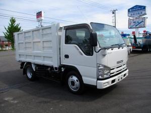 いすゞ エルフトラック 深ダンプ BDG-NKS85AD 新明和