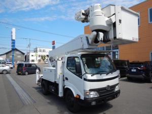 日野 デュトロ  高所作業車 アイチSH15B 14.6m E/Gユニット式 昇降装置付き ウインチ起伏・旋回油圧式 非常用ポンプ付