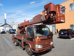 日野 デュトロ  高所作業車 アイチSK17A 17.1m FRP200kgバケットに変更 両サイド工具箱取付 キャビン・ボデー全塗装