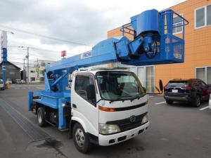 日野 デュトロ  高所作業車 アイチSK17A 17.1m 自動垂直水平移動装置付