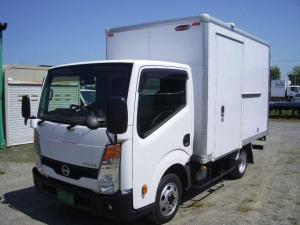 日産 アトラストラック アトラス1.2トン積 マニュアル4WD 箱車 S&Bカメラ