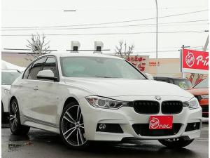 BMW 3シリーズ 320i ファストトラックパッケージ Mスポーツブレーキ アダプティブMサスペンション 純正19インチアルミホイール アクティブクルーズコントロール 車線逸脱警報 アルカンターラ電動シートヒーター 車検整備付き