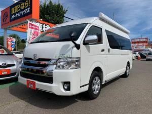 トヨタ ハイエースバン  キャンパー鹿児島製 REM FOREST クロスVER. 4WD