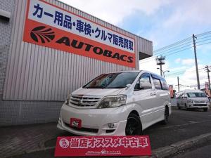 トヨタ アルファードV AS 4WD 寒冷地仕様 新品18インチAW 車検2年付