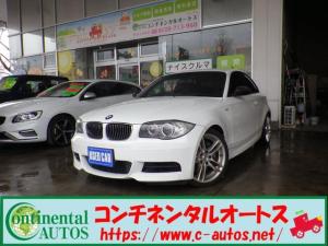 BMW 1シリーズ 135iクーペ MスポーツPKG 6速M/T ブラックレザー