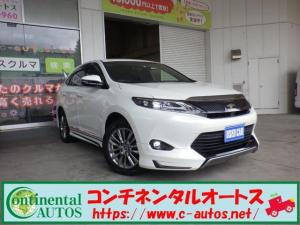 トヨタ ハリアー プレミアム4WD モデリスタ 9インチナビ セーフティセンス