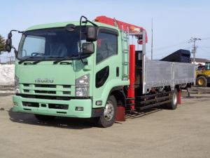 いすゞ フォワード  4トン 増トン ワイドロング 4段セルフクレーン ラジコン付き 最大積載量4200kg Z172