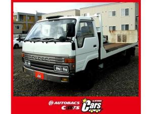 トヨタ ダイナトラック 積載車 ワイドロング セーフティーローダー 最大積載量2000kg 3700ccディーゼル ウインチ付き パワステ エアコン