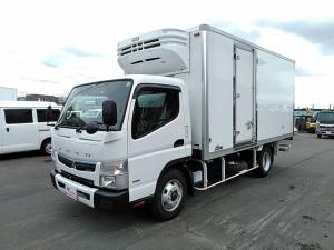 三菱ふそう キャンター 低温冷凍車 格納パワーゲート 積載3トン ワイドロング
