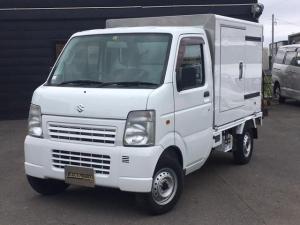 スズキ キャリイトラック KCエアコン・パワステ 3方開 4WD 低温冷蔵車