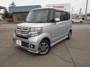 ホンダ N-BOXカスタム G・Lパッケージ  4WD ナビ 1年走行距離無制限保証