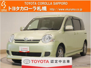 トヨタ シエンタ X Lパッケージ 4WD メモリーナビ・バックモニター付