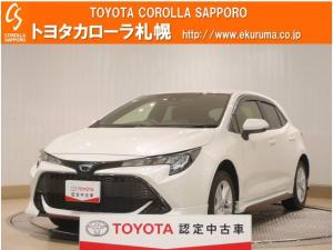 トヨタ カローラスポーツ G 4WD デモカー・メモリーナビ付