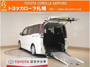 トヨタ ノア X 4WD ウェルキャブ スロープタイプ車いす2脚仕様 デモカーUP