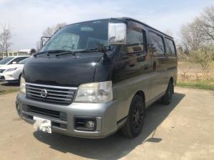日産 キャラバン ロングGX 修復歴無 キーレス 4WD スライドドア ETC