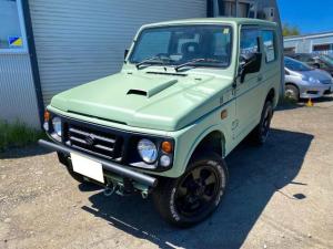 スズキ ジムニー ランドベンチャー 4WD マットグリーン塗装 マットブラック塗装 オールテレーンタイヤ 2インチリフトアップサス