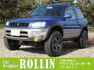トヨタ RAV4 L L 4WD HID メンバーダウン 社外マットタイヤ