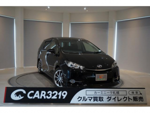 トヨタ ウィッシュ 1.8S 寒冷地仕様 4WD モデリスタエアロ フルセグTV HDDナビ ディスチャージヘッドライト マイナーチェンジ後モデル 7人乗り