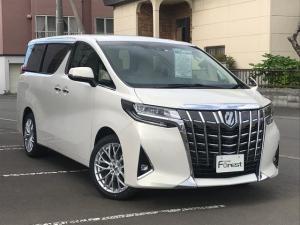 トヨタ アルファード 2.5X 4WD プリクラッシュセーフティ パワスラ ナビ付