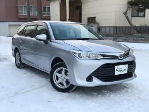 トヨタ カローラフィールダー 1.5X 4WD 社外SDナビ CD ウィンカーミラー フロントガラス熱性イン ヘッドライトレベライザー ETC 横滑り防止装置